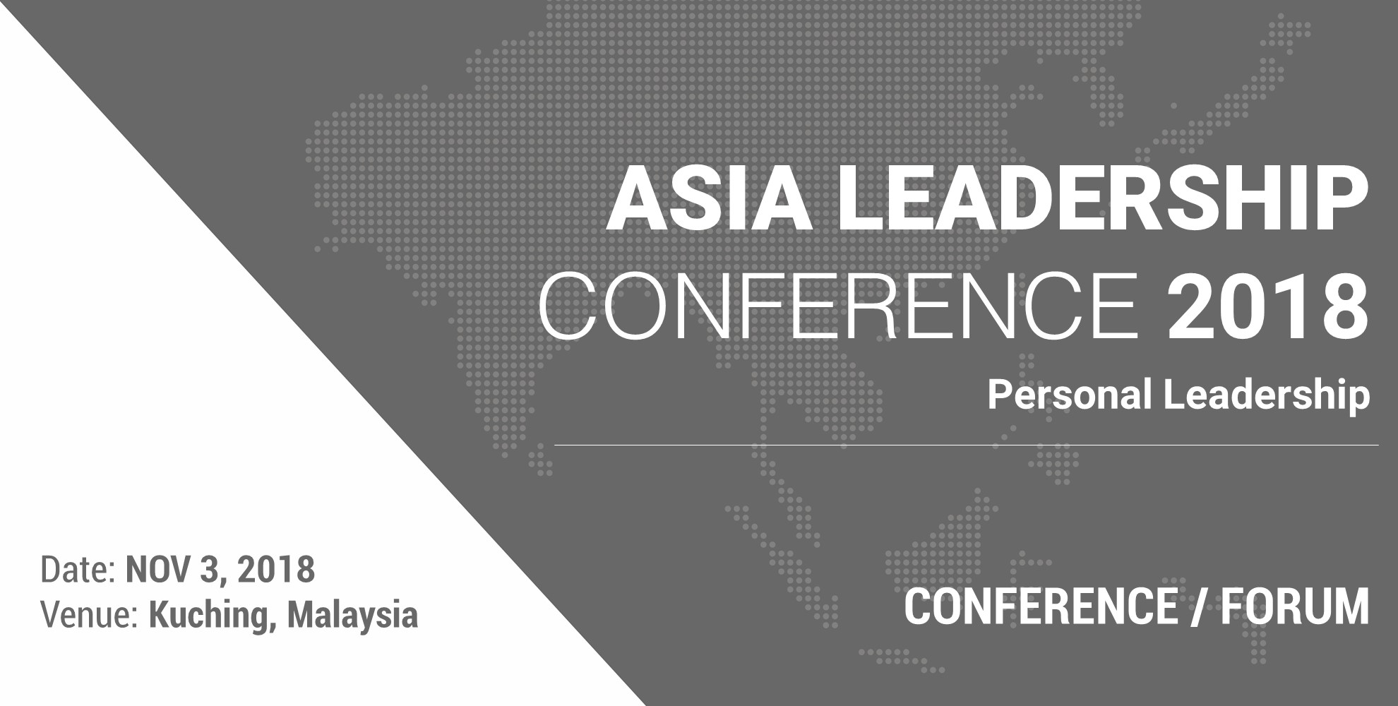 Asia Leadership Conference 2018: Personal Leadership: Tools
